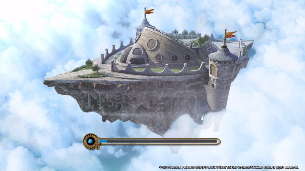 DQH闇竜と世界樹の城