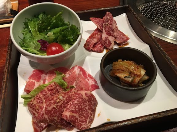 秋田牛玄亭の焼肉定食