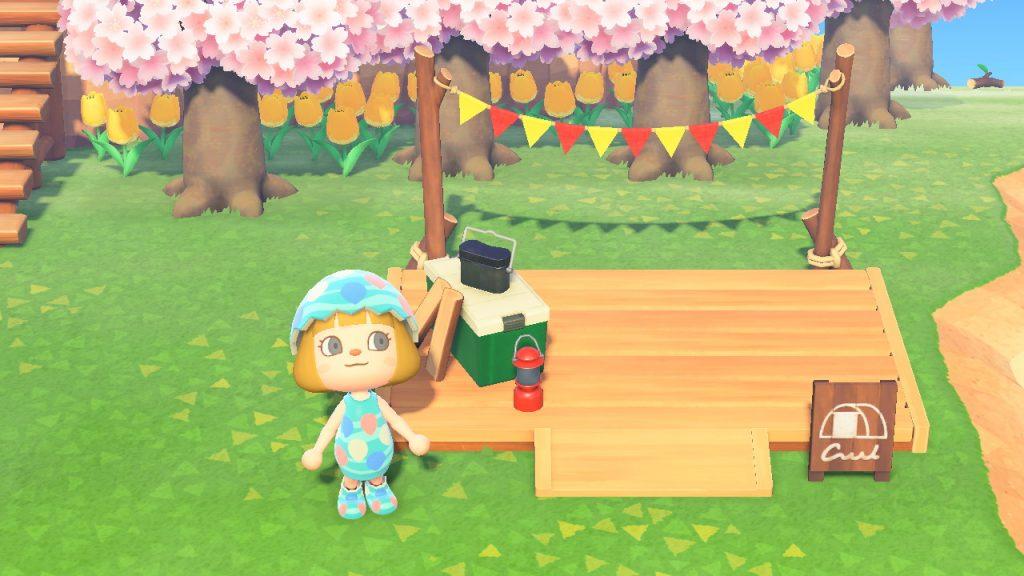 あつ森キャンプサイト