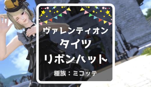 【FF14】ヴァレンティオン装備とラッフルドレスでこってりしたミラプリ作成しました